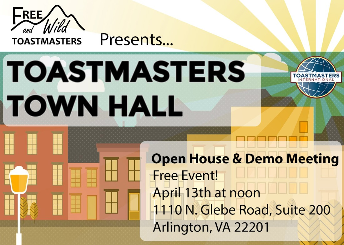 Toastmasters Town Hall